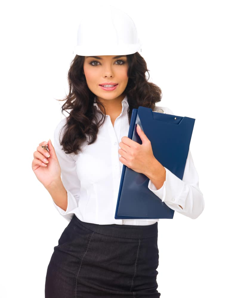 Business Woman in a sexy attire