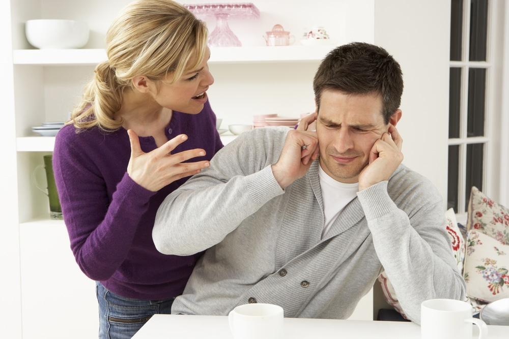 Woman nagging