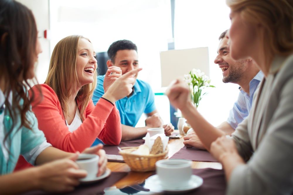 Compliment A Guy On His Choice Of Friends