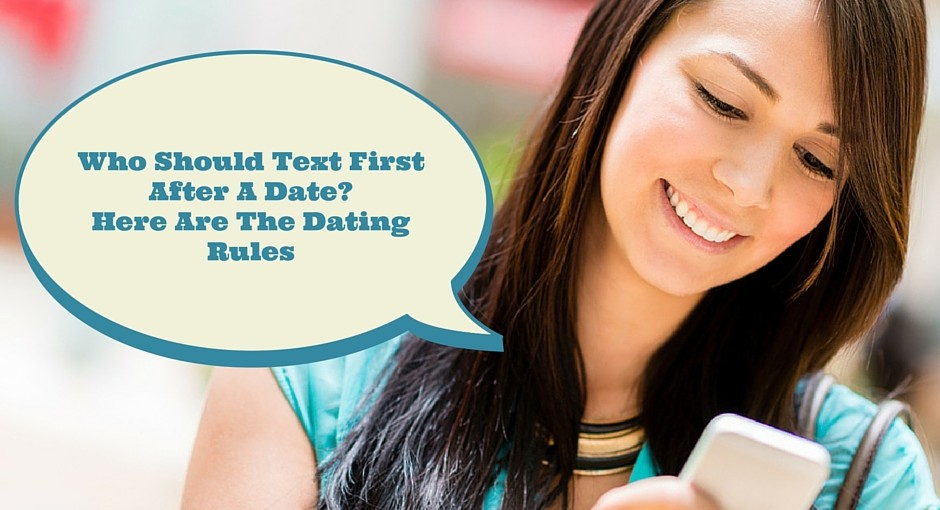Gay dating who texts first