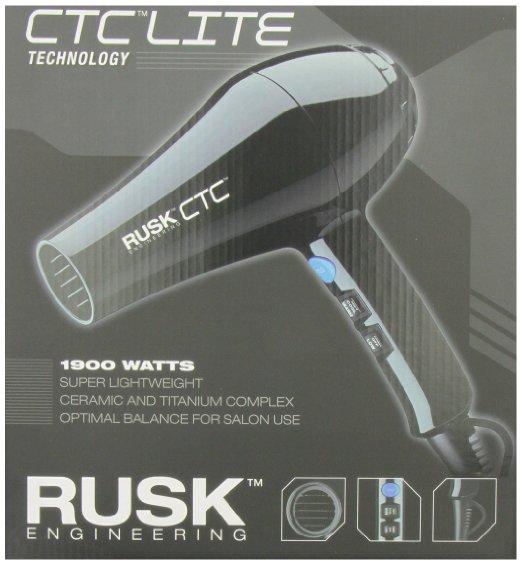 RUSK CTC Lite Technology Professional Lightweight 1900 Watt Dryer