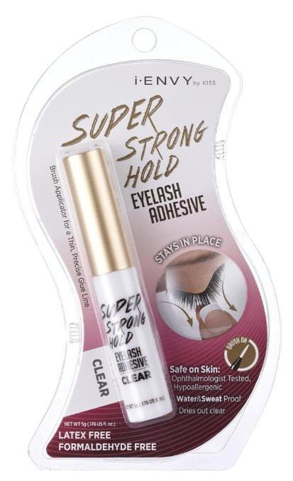 Kiss I Envy Super Strong Hold Eyelash Adhesive Latex Free