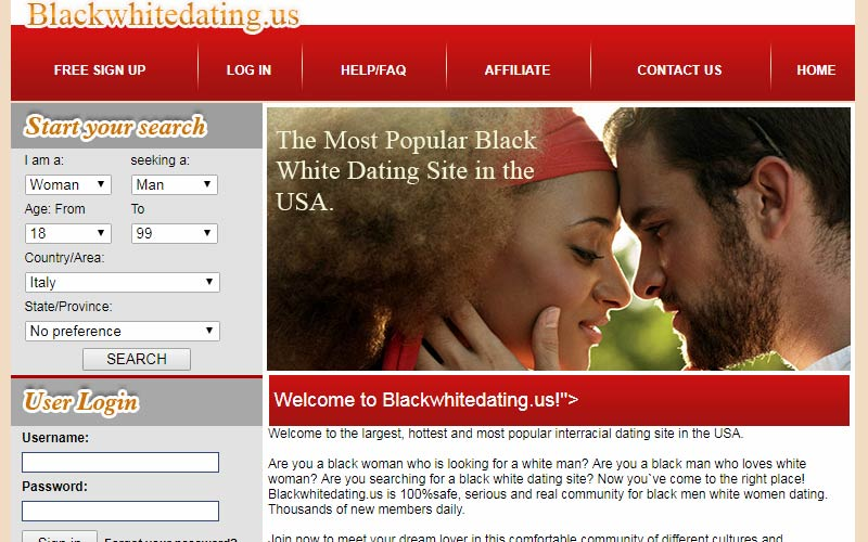 White dating site