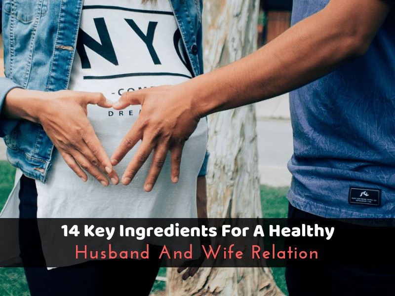 14 Key Ingredients For A Healthy Husband And Wife Relation