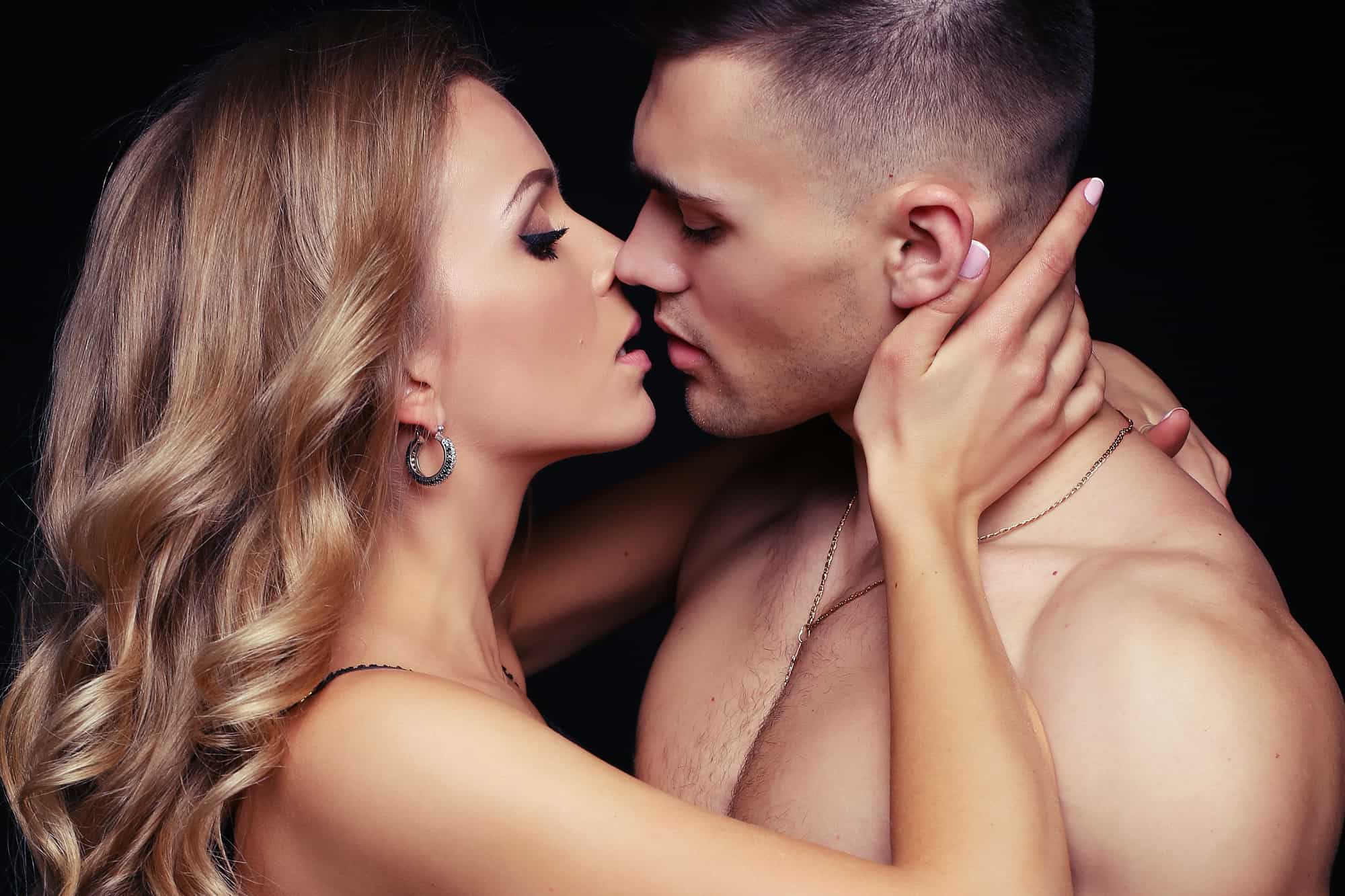 Guys like to kissed where be How Long