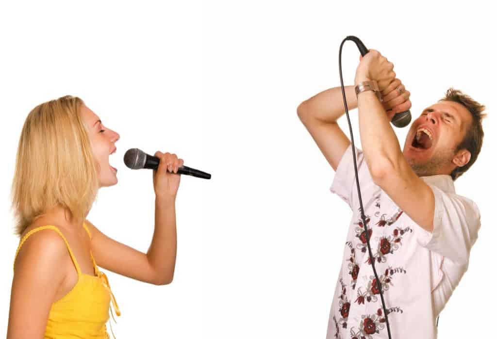 Go to karaoke