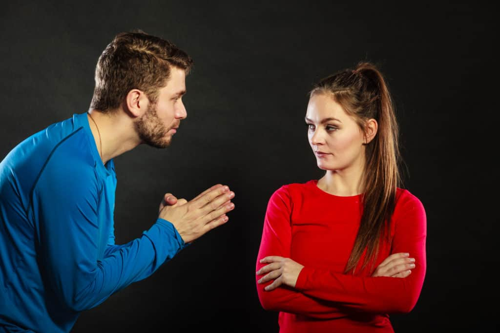 he doesn't allow you to break up with him - even though you've tried to do it so many times before