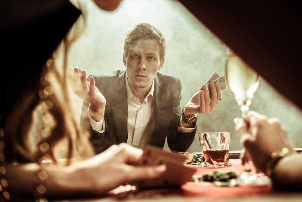 your partner is a gambler