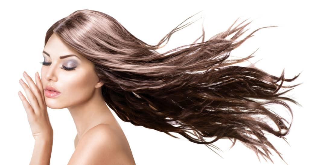 Long hair enhances beauty
