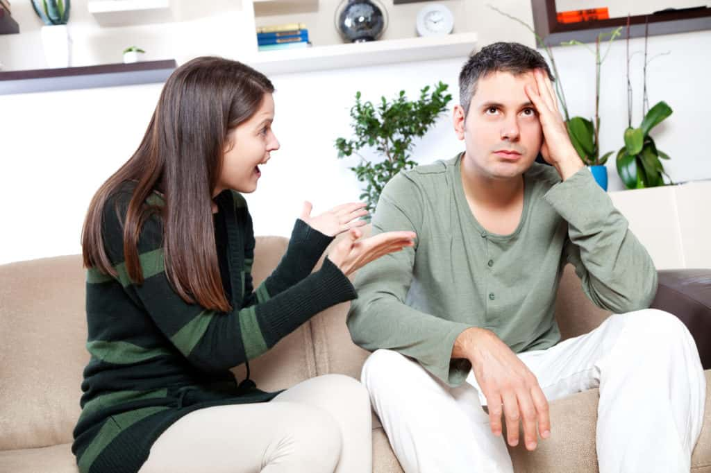Don't be the nagging partner