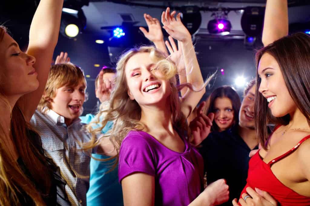 ignore everyone else on the dance floor