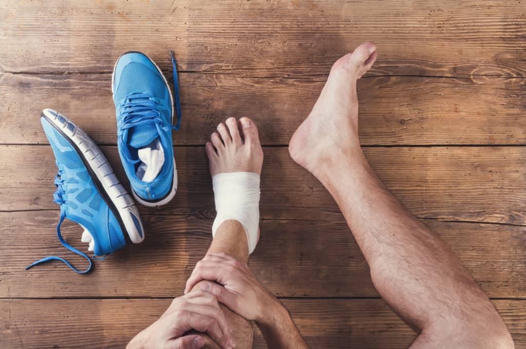 runner's feet aren't as easy on the eyes as the rest of them